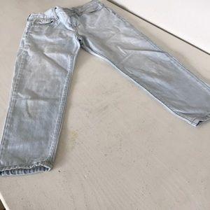Kids ankle jeans